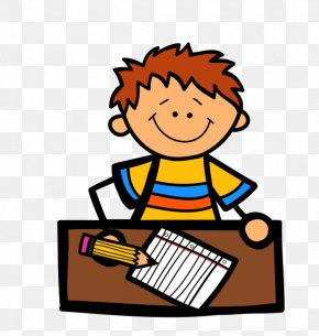 Child Writing Clipart - Educational Assessment Assessment For Learning Evaluation Test Clip Art PNG