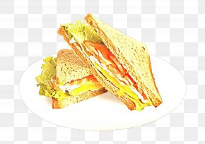 Fast Food Breakfast Sandwich - Food Dish Cuisine Ham And Cheese Sandwich Ingredient PNG