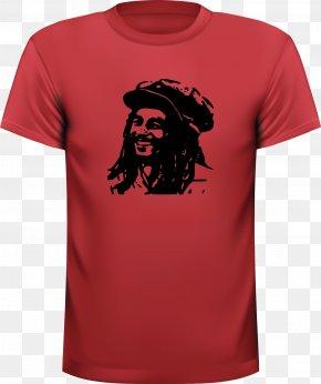 Bob Marley - T-shirt Hoodie Sleeve Clothing PNG