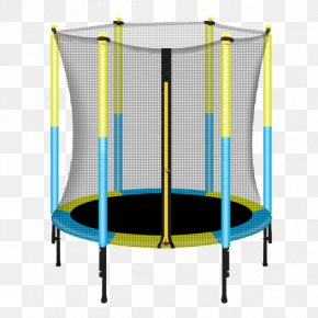 Trampoline Safety Net - Trampoline Safety Net Enclosure PNG