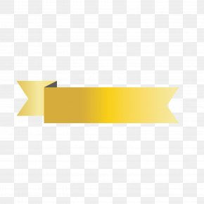 Gold Label - Yellow Angle Pattern PNG
