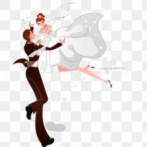 The Bride And Groom Wedding - Bridegroom Wedding Illustration PNG