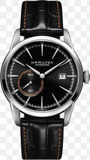 Watch - Hamilton Watch Company Rail Transport Chronograph Rolex PNG