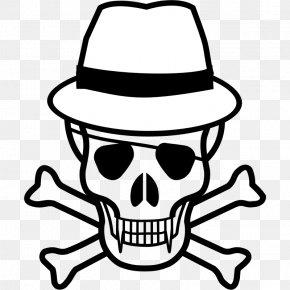 Sombrero Art - Skull And Bones Skull And Crossbones Human Skull Symbolism Clip Art PNG