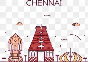 Chennai Street Vector - Chennai Stock Illustration Royalty-free Illustration PNG