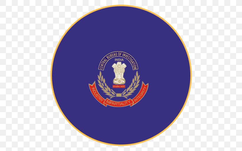 India Central Bureau Of Investigation Sub-inspector Sterling Biotech Ltd, PNG, 512x512px, India, Arrest, Badge, Brand, Central Bank Of India Download Free