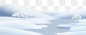 Winter Snow Ground Clip Art Image - Snow Clip Art PNG