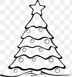 Christmas Tree - Christmas Tree Drawing Clip Art PNG