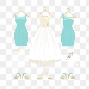 Vector Exquisite Wedding Bridesmaid Dress - Gown Bridesmaid Wedding PNG