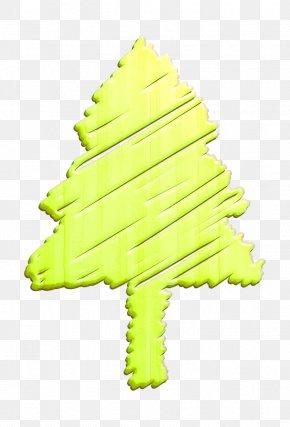 Pine Christmas Tree - Christmas Icon Decoration Icon Holiday Icon PNG
