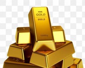 Gold Bar - Gold Bar Bullion Gold As An Investment PNG