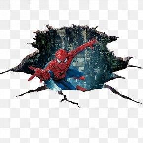 3D Design Videos - Spider-Man Sticker 3D Computer Graphics PNG