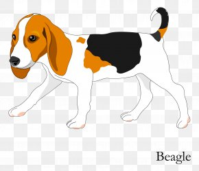 Vector Cartoon Hand Painted Cute Dog PNG