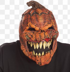 Mask - Latex Mask Mouth Halloween Costume PNG