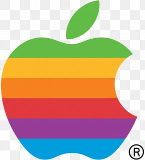 Computer Logo Pictures - Apple Logo Rainbow Color PNG