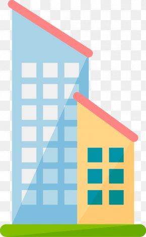 Building Design Vector Material - Facade Building Architecture Wedding Information PNG