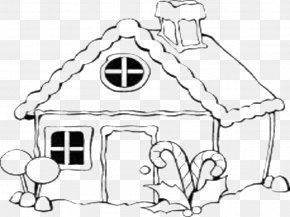 Rumah Di Alam - Gingerbread House Coloring Book Christmas Coloring Pages Drawing PNG