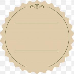 Coffee Lace Pattern - Paper Circle Angle Pattern PNG
