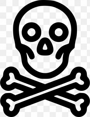 Skull - Skull And Crossbones Poison Clip Art PNG
