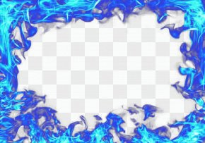 Blue Flame - Blue Sky Pattern PNG