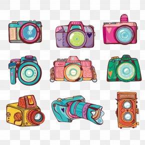 Camera - Camera Photography Illustration PNG
