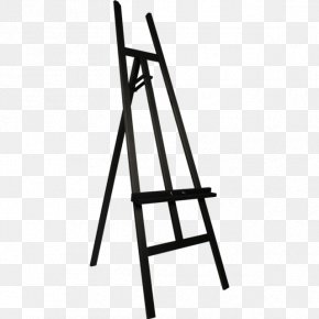 Duurzaam - Easel Canvas Painting Artist Illustration PNG