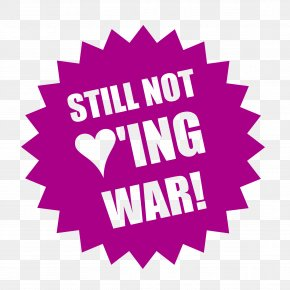 Not War - Sales Label PNG
