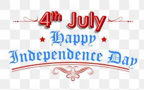 Happy Independence Day 4th July Clipart - United States Independence Day Public Holiday Clip Art PNG