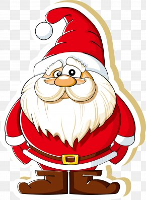 Cartoon Santa Claus - Ded Moroz Santa Claus Christmas Clip Art PNG
