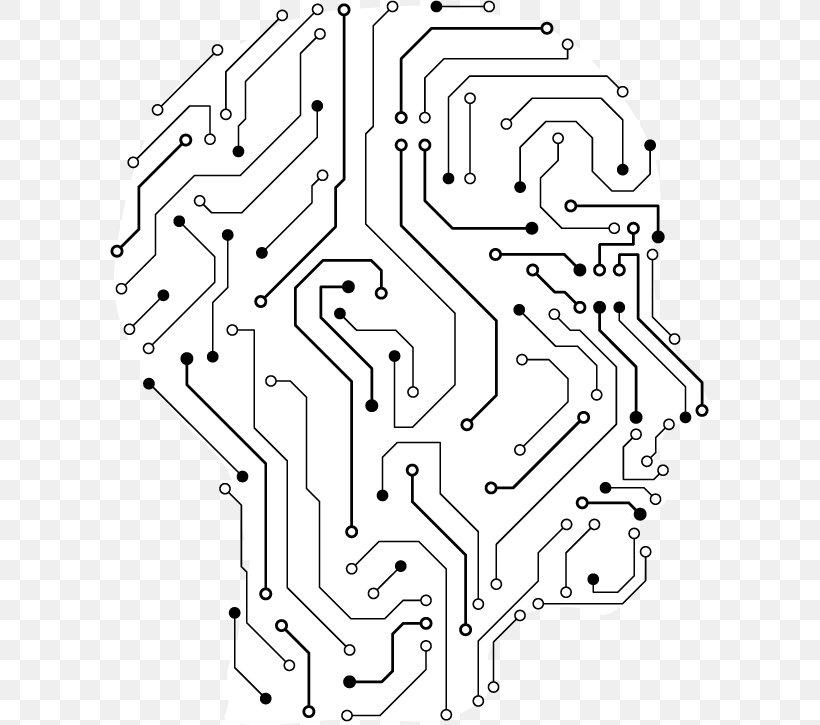 side vector circboard wiring diagram electronic engineering human head brain illustration  png  electronic engineering human head brain