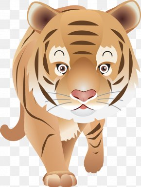Tiger - Tiger Felidae Animal Chinese Astrology Clip Art PNG