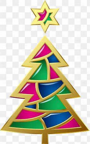 Christmas Tree - Christmas Card New Year Christmas Tree Santa Claus PNG