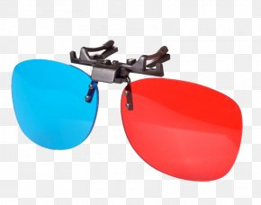 3D Glasses Color Mirror - Goggles Sunglasses Stereoscopy 3D Film PNG