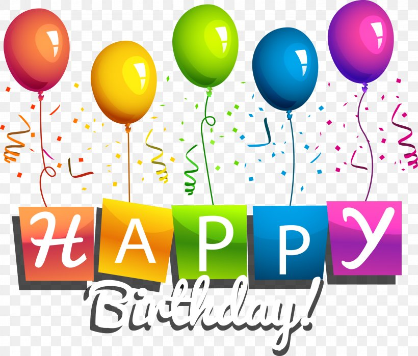 Happy Birthday To You Party, PNG, 2792x2381px, Birthday, Art, Balloon, Brand, Greeting Note Cards Download Free