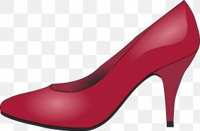 Shoe Graphic - Heel Shoe Pump PNG