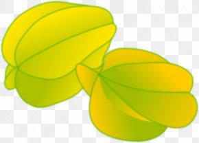 Starfruit Cliparts - Carambola Fruit Clip Art PNG