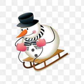 Christmas Snowman - Snowman Royalty-free Christmas Euclidean Vector PNG