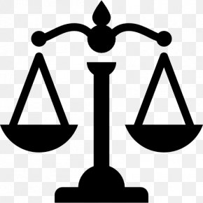 Scales - Lady Justice Measuring Scales PNG