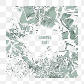Broken Mirror Fragments - Mirror Euclidean Vector Glass PNG