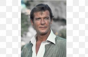 Roger Moore - Roger Moore For Your Eyes Only James Bond Film Series Actor PNG