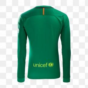 Fc Barcelona - FC Barcelona Jersey Goalkeeper Nike Jacket PNG