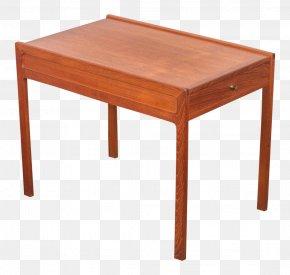 Table - Table Shelf Furniture Butcher Block Desk PNG
