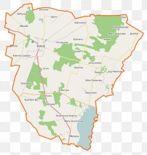 Map - Dobra, Turek County Długa Wieś, Turek County Piekary, Turek County Miłkowice, Greater Poland Voivodeship Moczydła, Turek County PNG