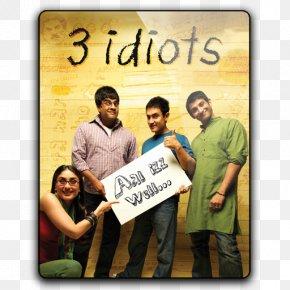 3 Idiots - Munna Bhai Film Director Bollywood Comedy PNG