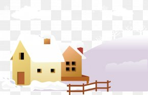 Housing Material Snow Warm Winter - Snow Winter PNG