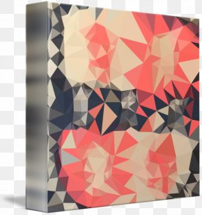 Polygon Background - T-shirt Rectangle Abstraction Pattern PNG