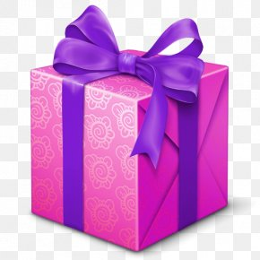 Gift Transparent - Gift Birthday Box PNG