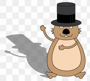 Groundhog Day Clip Art Punxsutawney Phil - Cartoon Groundhog Coloring Book Drawing Image PNG