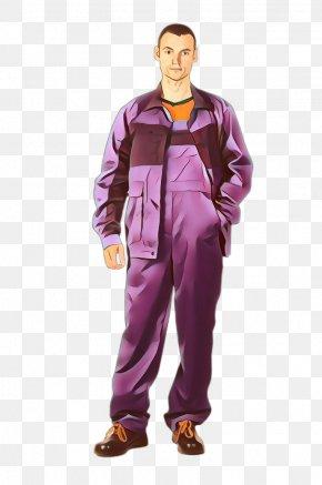 Rain Suit Magenta - Clothing Purple Outerwear Workwear Rain Pants PNG