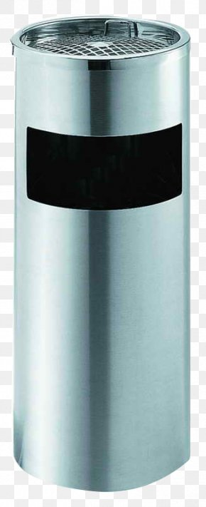 Outdoor Trash Can - Waste Container Stainless Steel PNG